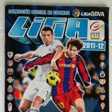 Coleccionismo deportivo: ALBUM DE FUTBOL LIGA 2011-12, ESTE - CONTIENE 365 CROMOS. Lote 257353705