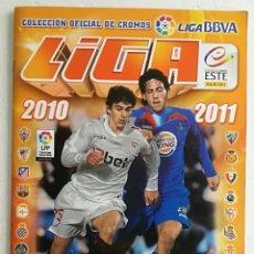 Coleccionismo deportivo: ALBUM DE FUTBOL LIGA 2010-11, ESTE - CONTIENE 442 CROMOS. Lote 257353885