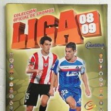 Coleccionismo deportivo: ALBUM DE FUTBOL LIGA 2008-09, ESTE - CONTIENE 383 CROMOS. Lote 257354085
