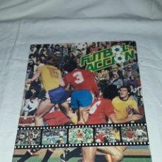 Collezionismo sportivo: ANTIGUO ÁLBUM FUTBOL EN ACCIÓN DANONE 82 1982 MARADONA. Lote 259265930