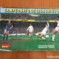 Coleccionismo deportivo: LIGA 1975-76. MUY COMPLETO. CON 22 FICHAJES. BUENE ESTADO Y MAS ( LEER ). Lote 260418860