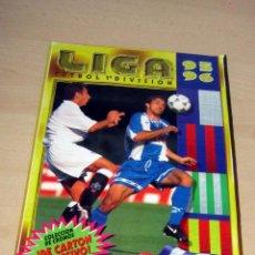 Coleccionismo deportivo: LIGA 95 96 EDICIONES ESTE , CON 380 CROMOS VER DETALLES. Lote 260745310