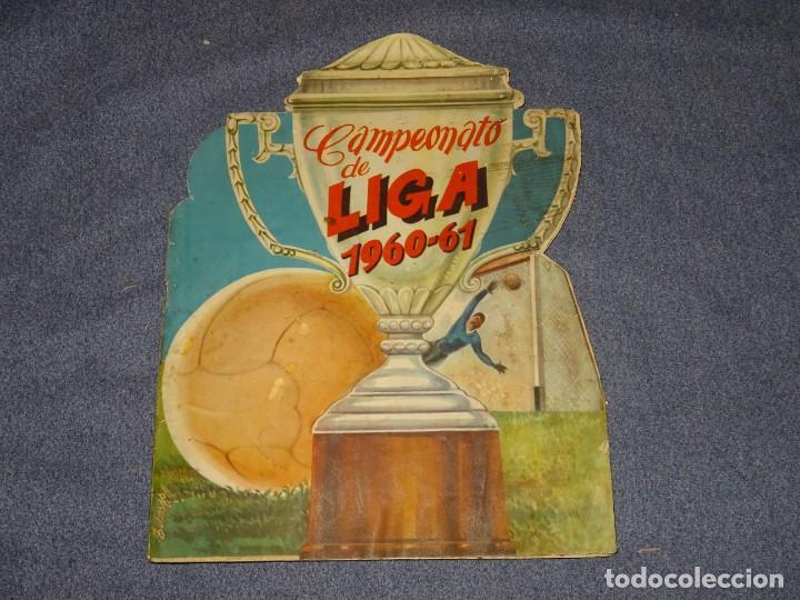 ALBUM CAMPEONATO DE LIGA 1960 - 61 - EDITORIAL FHER, FALTAN 11 CROMOS, VER FOTOIGRAFIAS ADICIONALES (Coleccionismo Deportivo - Álbumes y Cromos de Deportes - Álbumes de Fútbol Incompletos)
