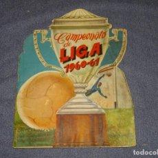 Coleccionismo deportivo: ALBUM CAMPEONATO DE LIGA 1960 - 61 - EDITORIAL FHER, FALTAN 11 CROMOS, VER FOTOIGRAFIAS ADICIONALES. Lote 261182750
