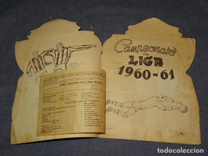 Coleccionismo deportivo: ALBUM CAMPEONATO DE LIGA 1960 - 61 - EDITORIAL FHER, FALTAN 11 CROMOS, VER FOTOIGRAFIAS ADICIONALES - Foto 3 - 261182750