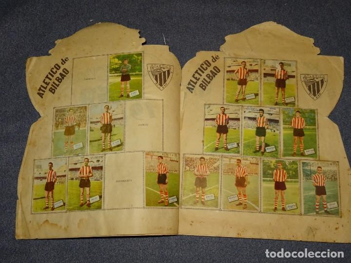 Coleccionismo deportivo: ALBUM CAMPEONATO DE LIGA 1960 - 61 - EDITORIAL FHER, FALTAN 11 CROMOS, VER FOTOIGRAFIAS ADICIONALES - Foto 4 - 261182750