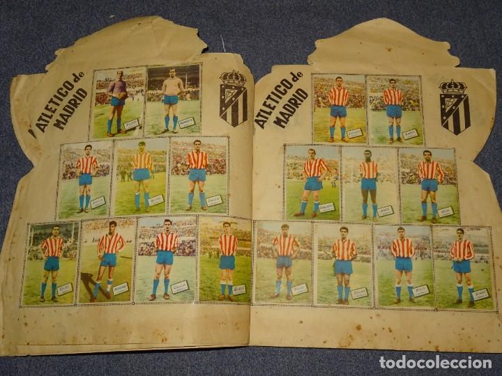 Coleccionismo deportivo: ALBUM CAMPEONATO DE LIGA 1960 - 61 - EDITORIAL FHER, FALTAN 11 CROMOS, VER FOTOIGRAFIAS ADICIONALES - Foto 5 - 261182750