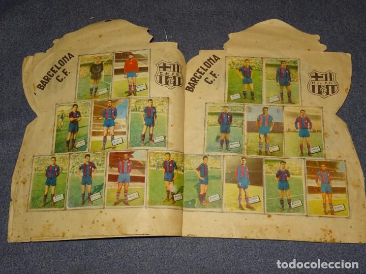 Coleccionismo deportivo: ALBUM CAMPEONATO DE LIGA 1960 - 61 - EDITORIAL FHER, FALTAN 11 CROMOS, VER FOTOIGRAFIAS ADICIONALES - Foto 6 - 261182750