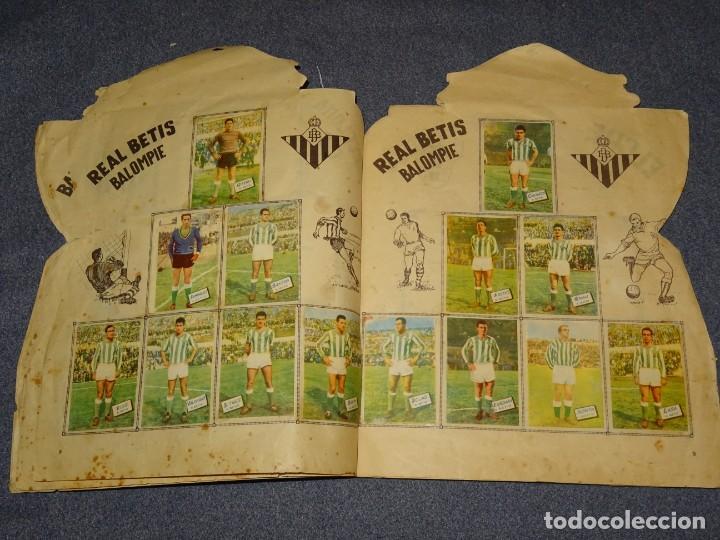 Coleccionismo deportivo: ALBUM CAMPEONATO DE LIGA 1960 - 61 - EDITORIAL FHER, FALTAN 11 CROMOS, VER FOTOIGRAFIAS ADICIONALES - Foto 7 - 261182750