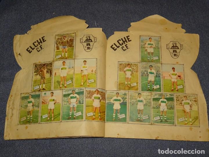 Coleccionismo deportivo: ALBUM CAMPEONATO DE LIGA 1960 - 61 - EDITORIAL FHER, FALTAN 11 CROMOS, VER FOTOIGRAFIAS ADICIONALES - Foto 8 - 261182750