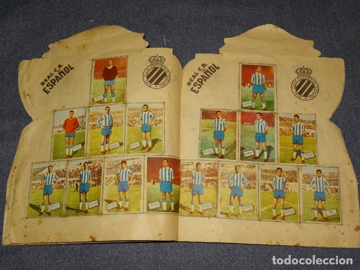 Coleccionismo deportivo: ALBUM CAMPEONATO DE LIGA 1960 - 61 - EDITORIAL FHER, FALTAN 11 CROMOS, VER FOTOIGRAFIAS ADICIONALES - Foto 9 - 261182750