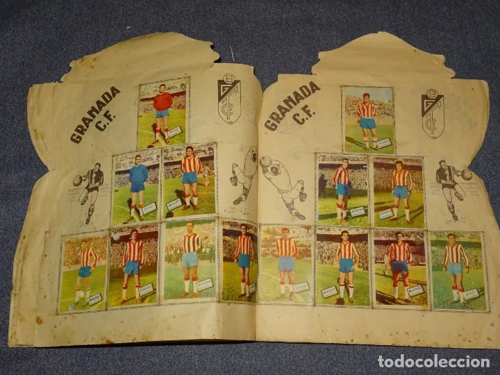 Coleccionismo deportivo: ALBUM CAMPEONATO DE LIGA 1960 - 61 - EDITORIAL FHER, FALTAN 11 CROMOS, VER FOTOIGRAFIAS ADICIONALES - Foto 10 - 261182750