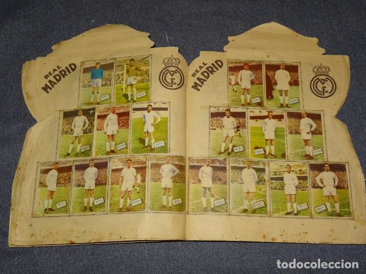 Coleccionismo deportivo: ALBUM CAMPEONATO DE LIGA 1960 - 61 - EDITORIAL FHER, FALTAN 11 CROMOS, VER FOTOIGRAFIAS ADICIONALES - Foto 11 - 261182750