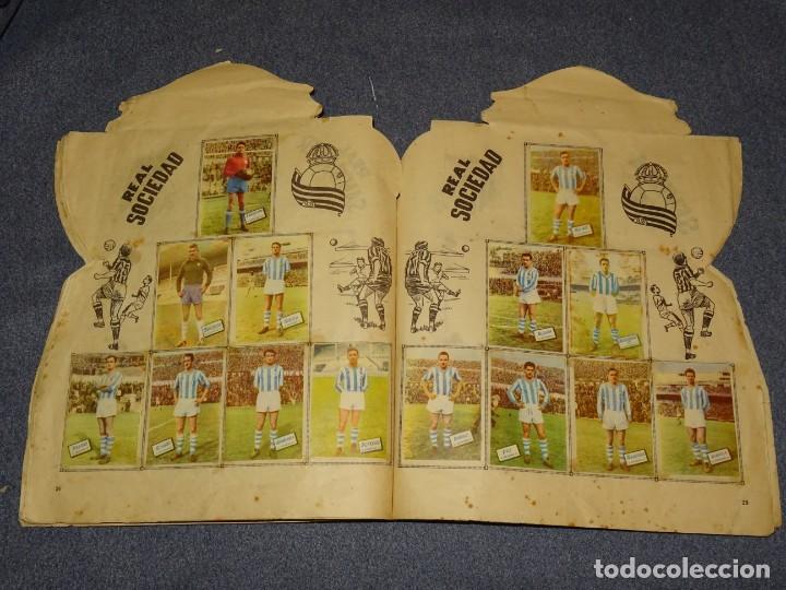 Coleccionismo deportivo: ALBUM CAMPEONATO DE LIGA 1960 - 61 - EDITORIAL FHER, FALTAN 11 CROMOS, VER FOTOIGRAFIAS ADICIONALES - Foto 15 - 261182750