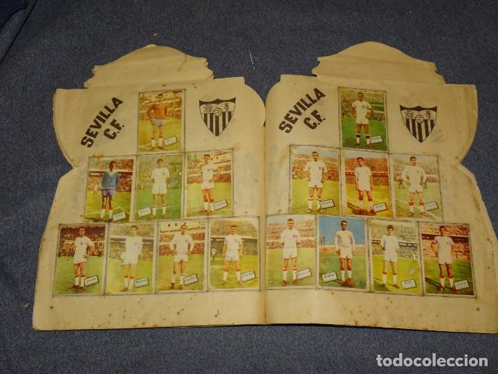 Coleccionismo deportivo: ALBUM CAMPEONATO DE LIGA 1960 - 61 - EDITORIAL FHER, FALTAN 11 CROMOS, VER FOTOIGRAFIAS ADICIONALES - Foto 16 - 261182750