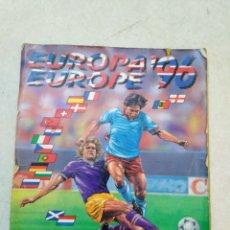 Coleccionismo deportivo: ÁLBUM CASI COMPLETO EUROPA EUROPE 96 ( DEFECTUOSO-MIRAR DESCRIPCIÓN ). Lote 261637010