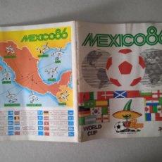Coleccionismo deportivo: ALBUM DE FUTBOL. MEXICO 86. PANINI. FALTAN 51 CRMOS. FOTOS DE TODAS LAS HOJAS.. Lote 261809675
