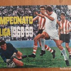 Coleccionismo deportivo: ALBUM CAMPEONATO DE LIGA 1968-69. DISGRA. EDICIONES FHER. INCLUYE LAMINA DE PETICIÓN DE CROMOS.. Lote 262095825