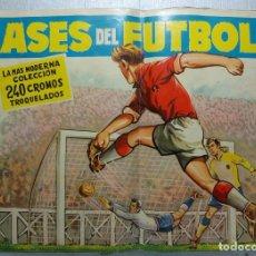 Coleccionismo deportivo: ALBUM ASES DEL FUTBOL, EXCLUSIVAS FERMA, LIGA 1960-1961, COPA DEL GENERALÍSIMO, INCOMPLETO. Lote 262250615