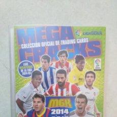 Coleccionismo deportivo: LOTE DE 273 CROMOS MEGA CRACK 2014-2015 + ARCHIVADOR + 3 MESSI. Lote 262295330