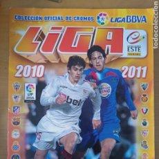 Coleccionismo deportivo: ALBUM PANINI LIGA ESTE 2010 2011 CASI COMPLETO: CON IBRAHIMOVIC, MESSI, CRISTIANO RONALDO, RAMOS.... Lote 262300945