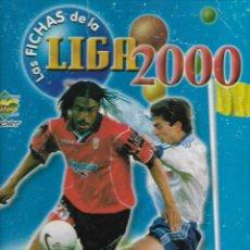 Collectionnisme sportif: ALBUM DE LAS FICHAS DE LA LIGA 2000 CON 355 FICHAS. Lote 263581665