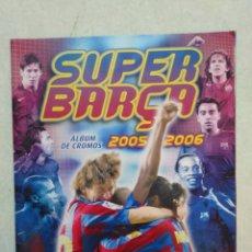 Coleccionismo deportivo: ÁLBUM DE CROMOS INCOMPLETO ( CON CROMOS DE MESSI ) SÚPER BARSA 2005-2006 ( PANINI SPORT ). Lote 263595575