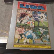 Coleccionismo deportivo: MUNDICROMO 1997-98 ( ALBUM VACÍO + 44 HOJAS ) MUY NUEVO. Lote 263649305