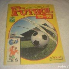 Coleccionismo deportivo: FUTBOL 92 / 93 , ESTRELLAS DE LA LIGA . PANINI. CONTIENE 90 CROMOS DE 220.. Lote 264842854