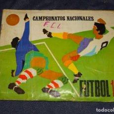 Collezionismo sportivo: (M) ALBUM CAMPEONATOS NACIONALES DE FUTBOL 1970 EDT RUIZ ROMERO, FALTAN 15 CROMOS. Lote 265962643