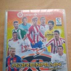 Coleccionismo deportivo: ALBUM CROMOS TRADING CARD FUTBOL ADRENALYN PANINI LIGA 2016-17 (INCOMPLETO). Lote 266312273