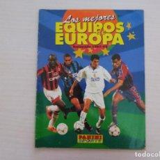 Collectionnisme sportif: ALBUM VACIO DE FUTBOL LOS MEJORES EQUIPOS DE EUROPA 1997-1998/97-98 DE PANINI. Lote 267168579