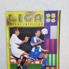 Coleccionismo deportivo: ÁLBUM INCOMPLETO DE FÚTBOL LIGA 95-96. Lote 267524854