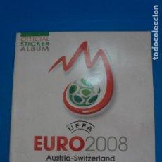 Collezionismo sportivo: ALBUM VACIO DE FUTBOL EURO 2008 AUSTRIA-SWITZERLAND DE PANINI. Lote 268602459