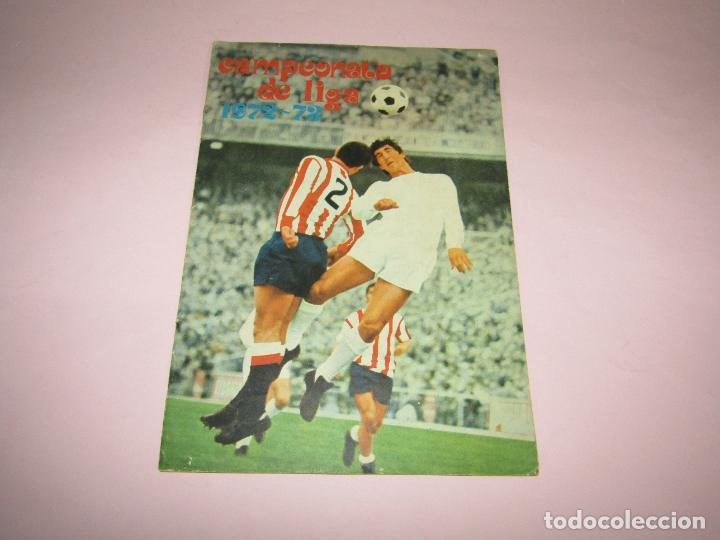 ANTIGUO ÁLBUM CAMPEONATO DE LIGA 1972-73 DE DISGRA FHER (Coleccionismo Deportivo - Álbumes y Cromos de Deportes - Álbumes de Fútbol Incompletos)