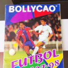 Coleccionismo deportivo: ALBUM CROMOS FUTBOL 97 98 PANRICO BOLLYCAO CAMPEONATO NACIONAL DE LIGA 1997 1998 + CUPON (FALTAN 16). Lote 269076258