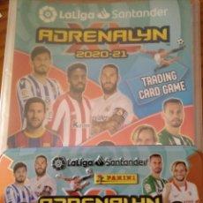 Coleccionismo deportivo: ADRENALYN LIGA 2020- 20/ 21 - PANINI- ALBUM VACIO + LATA DE CARTAS VACIA -. Lote 269115893
