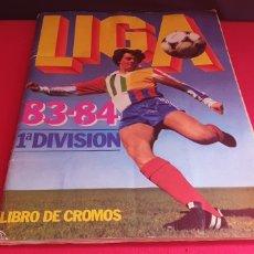 Collezionismo sportivo: ALBUM DE CROMOS LA LIGA 83-84 1⁰ DIVISION TAL CUAL COMO SE VE EN FOTOS. Lote 269116118