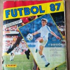 Coleccionismo deportivo: ÁLBUM DE CROMOS FÚTBOL 87 - PANINI (FALTAN TRES CROMOS). Lote 269850028