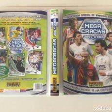 Coleccionismo deportivo: ÁLBUM MEGA CRACKS LIGA 2007-2008, PANINI, CON 179. Lote 269948663