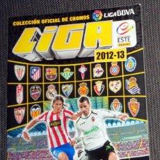 Coleccionismo deportivo: ALBUM PLANCHA CROMOS FÚTBOL LIGA 2012-13 12/13 COLECCIONES ESTE PANINI - COLECCIÓN OFICIAL. Lote 270004933