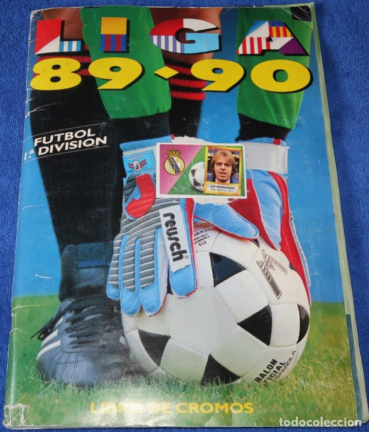 LIGA 89-90 - EDICIONES ESTE (Coleccionismo Deportivo - Álbumes y Cromos de Deportes - Álbumes de Fútbol Incompletos)