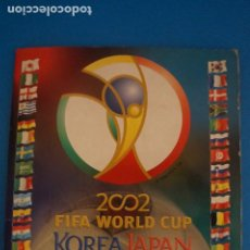Coleccionismo deportivo: ALBUM INCOMPLETO DE FUTBOL MUNDIAL KOREA JAPON 2002 WORLD CUP DE PANINI. Lote 272503523