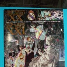 Coleccionismo deportivo: ALBUM MONEDAS OFICIALES DEL REAL MADRID DEL SIGLO XX AL REAL MADRID DEL XXI. Lote 273490988