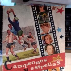 Collectionnisme sportif: ALBUM 1967 CAMPEONES Y ESTRELLAS LA CIBELES. Lote 273994528