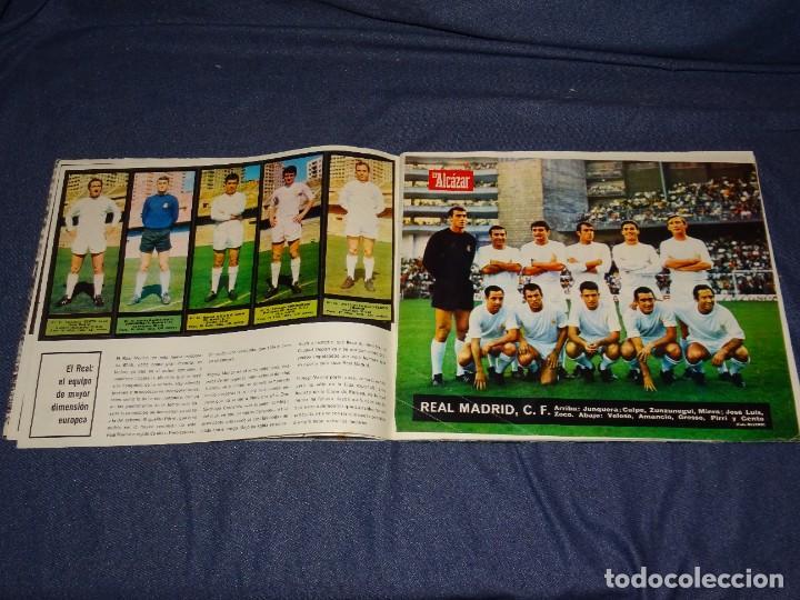 Coleccionismo deportivo: ALBUM FUTBOLITICO 1967 / 1968 EL ALCAZAR, MADRID - FALTAN 14 CROMOS, SEÑALES DE USO NORMALES - Foto 4 - 274207553