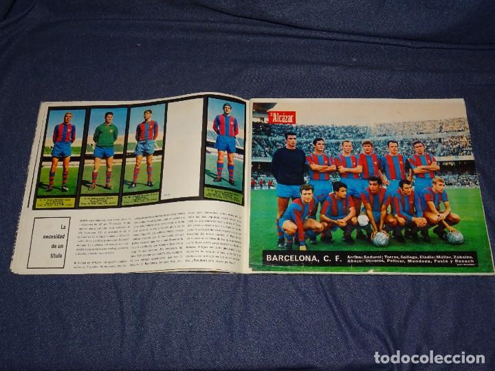 Coleccionismo deportivo: ALBUM FUTBOLITICO 1967 / 1968 EL ALCAZAR, MADRID - FALTAN 14 CROMOS, SEÑALES DE USO NORMALES - Foto 7 - 274207553