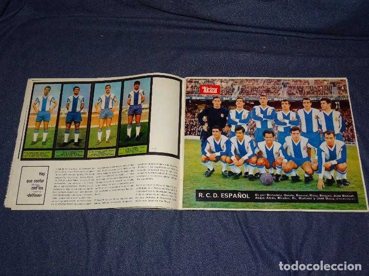 Coleccionismo deportivo: ALBUM FUTBOLITICO 1967 / 1968 EL ALCAZAR, MADRID - FALTAN 14 CROMOS, SEÑALES DE USO NORMALES - Foto 9 - 274207553