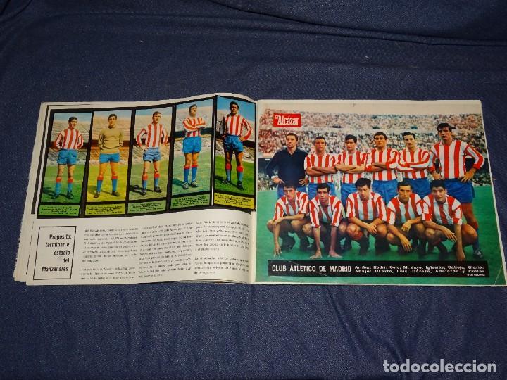 Coleccionismo deportivo: ALBUM FUTBOLITICO 1967 / 1968 EL ALCAZAR, MADRID - FALTAN 14 CROMOS, SEÑALES DE USO NORMALES - Foto 11 - 274207553