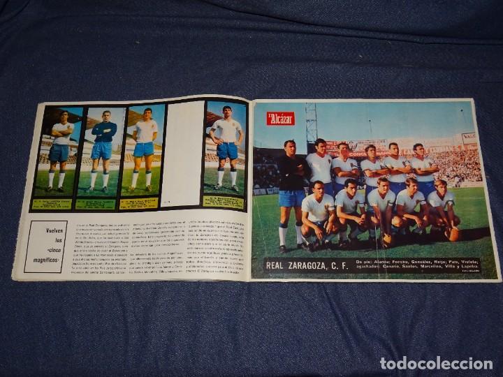 Coleccionismo deportivo: ALBUM FUTBOLITICO 1967 / 1968 EL ALCAZAR, MADRID - FALTAN 14 CROMOS, SEÑALES DE USO NORMALES - Foto 13 - 274207553